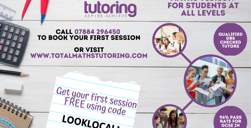 Get your FIRST Tutoring session for FREE using code: LOOKLOCAL*